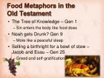 food metaphors in the old testament