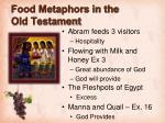 food metaphors in the old testament1