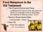 food metaphors in the old testament2
