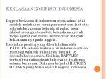 kekuasaan inggris di indonesia