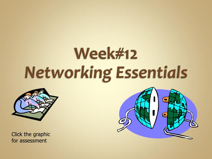 week 12 networking essentials n.