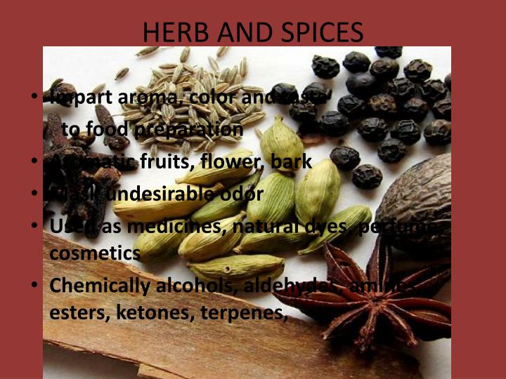 herb and spices n.