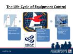 the life cycle of equipment control