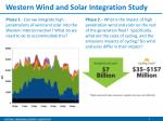 western wind and solar integration study