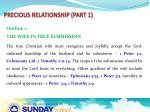 precious relationship part 13