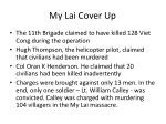 my lai cover up