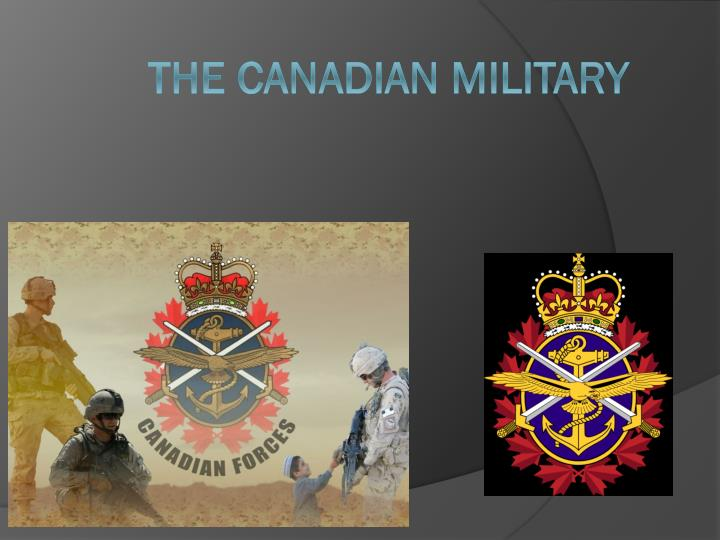 the canadian military n.
