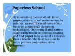 paperless school