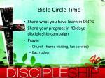 bible circle time