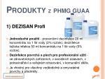 produkty z phmg guaa