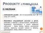 produkty z phmg guaa1