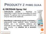 produkty z phmg guaa3