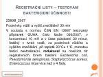 registra n listy testov n baktericidn innosti2