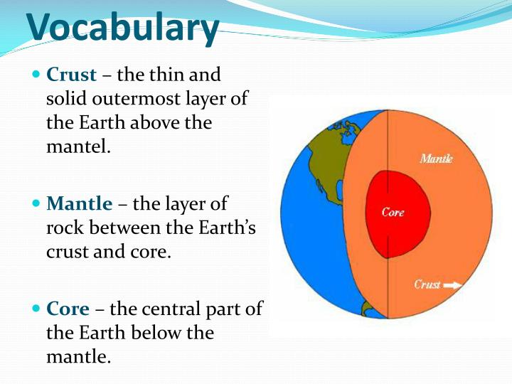 a look at the crust and upper mantel earth layers The earth is made up of several layers and each has unique properties, characteristics, composition and affects the inner but chemically, which is the more popular of the two, it can be divided into the crust, the mantle (which can be subdivided into the upper and lower mantle), and the core - which.