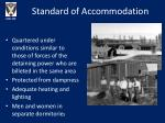 standard of accommodation