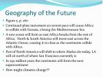 geography of the future