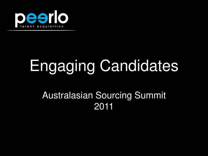 engaging candidates n.