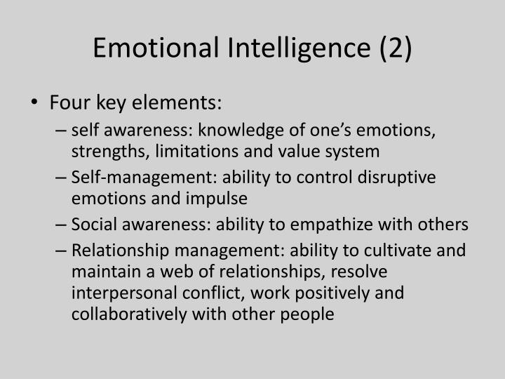 Emotional Intelligence (2)