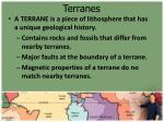 terranes