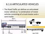 6 1 6 articulated vehicles