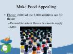 make food appealing1