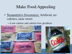 make food appealing4
