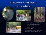 education outreach partnerships