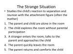 the strange situation1