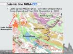seismic line 10ga cp11