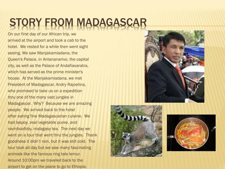 Story From Madagascar
