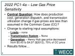 2022 pc1 4a low gas price sensitivity