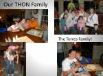 our thon family