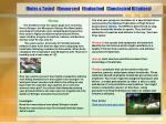 roles tasks resources evaluation conclusion citations