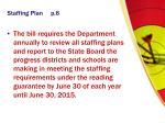 staffing plan p 6