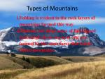 types of mountains1