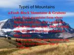 types of mountains3