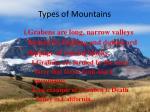 types of mountains4