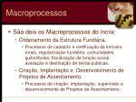 macroprocessos