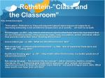 rothstein class and the classroom1
