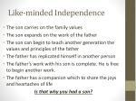 like minded independence