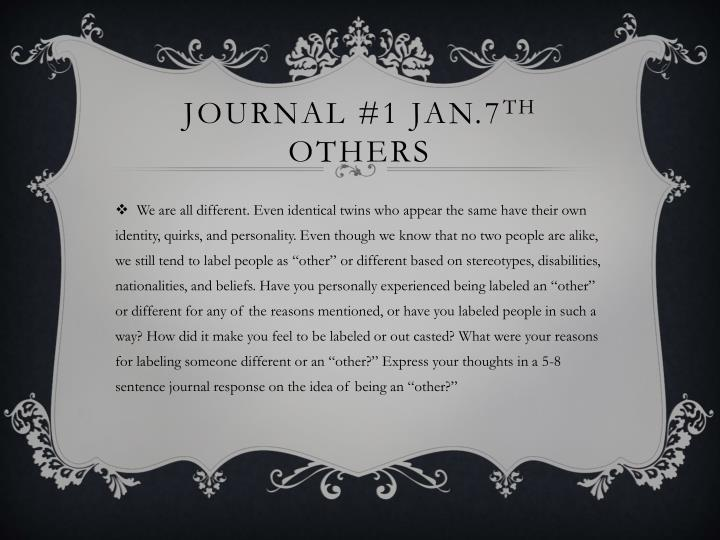 journal 1 jan 7 th others n.