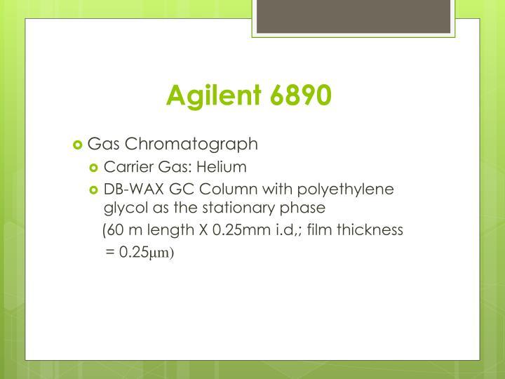 Agilent 6890