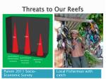 threats to our reefs