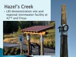 hazel s creek
