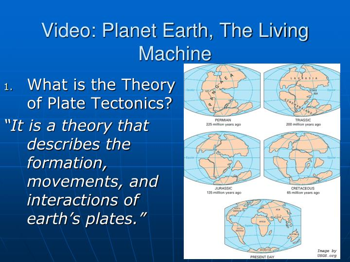 video planet earth the living machine n.