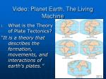 video planet earth the living machine
