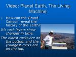 video planet earth the living machine1