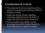 coordination control