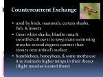 countercurrent exchange1