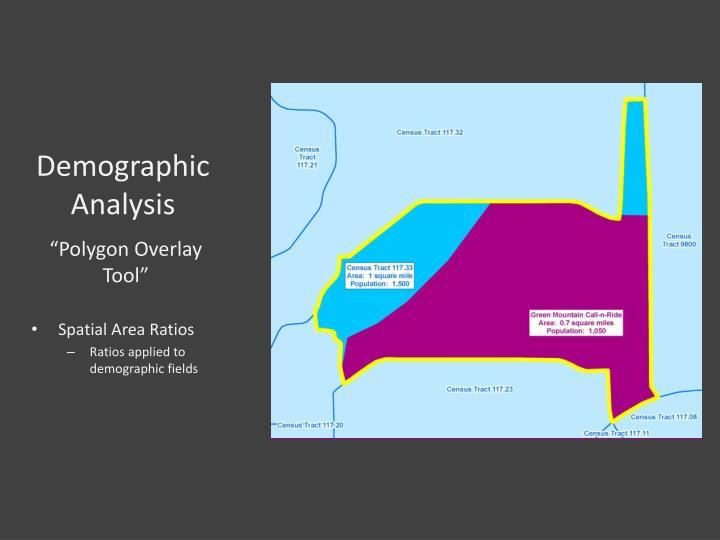 Demographic Analysis